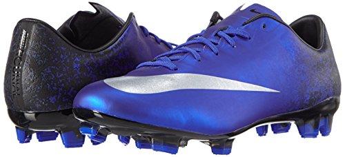 Nike Herren Mercurial Veloce II CR FG Fußballschuhe, Blau (DP Ryl BL/Mtllc Slvr-Rcr BL-BL_404), 43 EU -