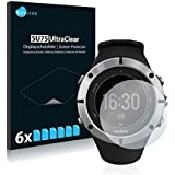 6x Screen Protector for Suunto Ambit2 - Supreme Quality, Crystal-Clear, Bubble-Free