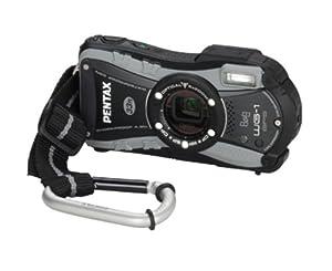 Pentax Optio WG1 GPS Appareil photo numérique 14 Mpix Étanche 10 m GPS embarqué Gris