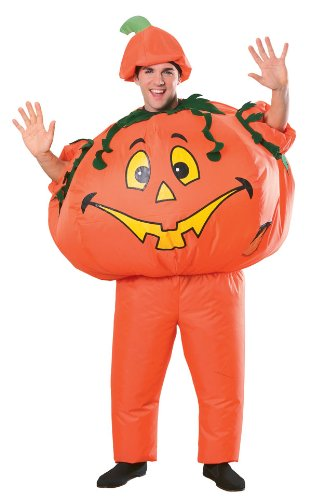 Funny Inflatable Pumpkin Costume - Adult Std.