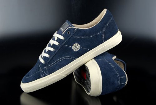 Element Huntley Navy Skaterschuhe