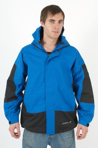 New Mens Location Goggle Rain Hooded Jacket Coat Size S