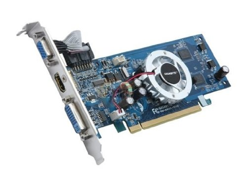 Gigabyte GV-N84S-512I GeForce 8400GS 512 MB ATX HDMI Graphics Card