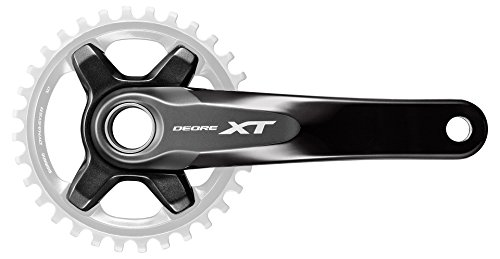 SHIMANO XT M8000 Guarnitura 1x11v senza Corona 2016 (Guarniture Mtb) / XT M8000 1x11 Speed Crankset without Chainring 2016 (Cranksets Mtb)