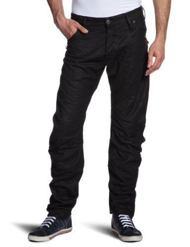 G-Star Men's New Riley 3D Loose Tapered - 50746 Tapered Jeans Grey (Dk Cobler 2838) 36/32