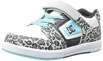 DC Destroyer SE Sneaker (Toddler/Little Kid/Big Kid),White/Capri Blue,7 M US Toddler