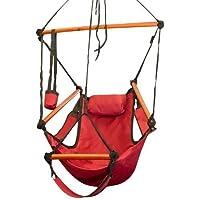 Topone(TM)Portable Parachute Nylon Fabric Travel Camping Hammock from Topone