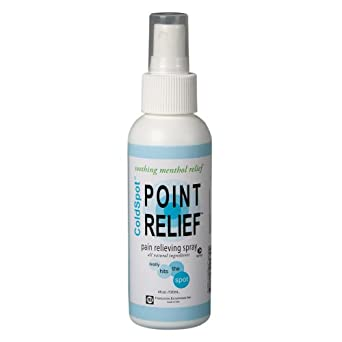 Point Relief 11-0701-12 ColdSpot Spray, 4 oz Bottle (Case of 12)