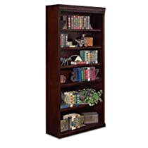 "Hot Sale 6 Shelf Bookcase - Huntington Club (Cherry) (36""W X 72""H X 13""D)"