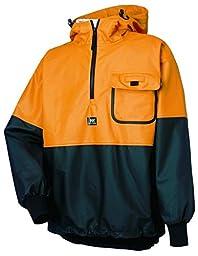 Helly Hansen Workwear Roan Fishing Guide Anorak Jacket, Ochre/Charcoal, M
