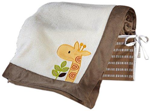 NoJo Zoobilee Coral Fleece Blanket