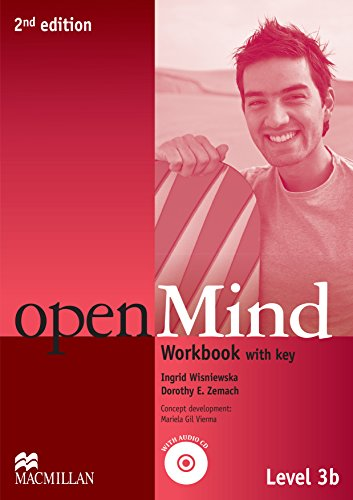 Open Mind 2nd Edition AE Level 3B Workbook with Key & CD Pack (Openmind American Edition)