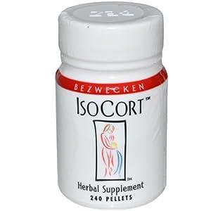 Bezwecken, Inc., IsoCort, Adrenal Support, 240 Pellets