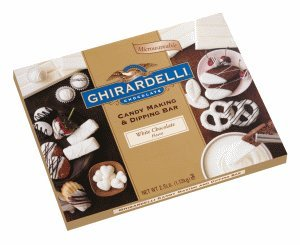 Ghirardelli Chocolate White Chocolate Flavored Candy Making and Dipping Bar, 2.5 lbs.