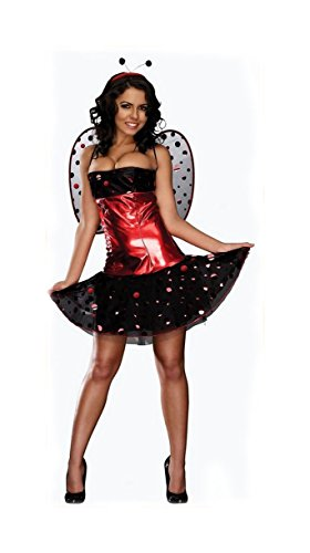 Sexy Lady Bug Women's Halloween Costumes