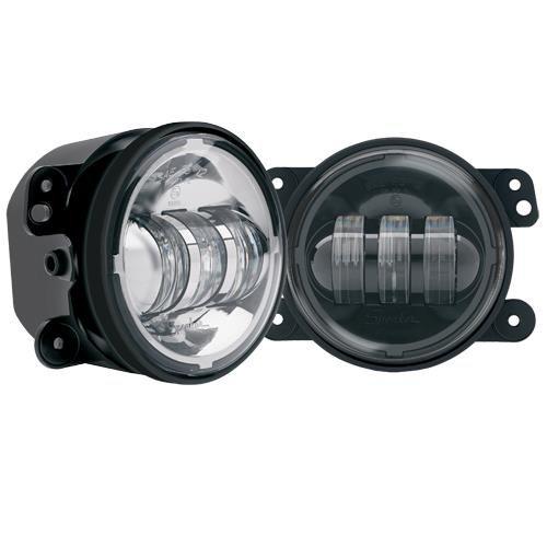 """Jw Speaker Jws-M6145 - Jw Speaker Model 6145 - 4"""" Chrome Round Led Fog Light"""