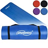 Physionics� FNMT01-04-1.5 Fitness Exercise Yoga Mat DIFFERENT COLOURS (Blue)by Physionics�