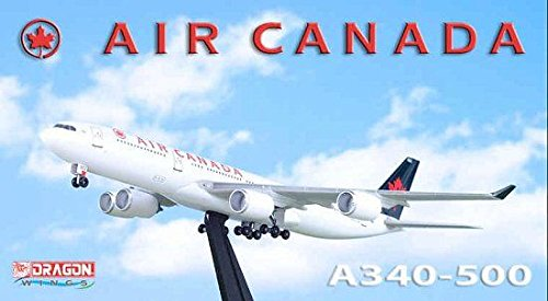 1:400 Dragon Wings Airbus A340-500 Air Canada (pre-painted/pre-built) (A340 Air Canada compare prices)