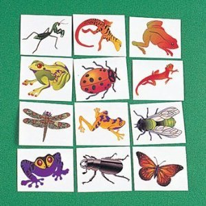 72 ct - Insect And Reptile Tattoos - 1
