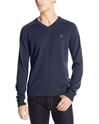 Original Penguin Men's Long Sleeve Sweater