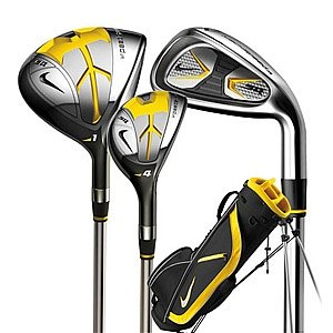 Nike Golf Junior SQ Sasquatch Machspeed Box Set, Right Hand, Graphite, Uniflex, 2