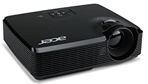 Acer P1223 DLP-Projektor (XGA, Kontrast 7500:1, 1024x768 Pixel, 3200 ANSI Lumen, HDMI)