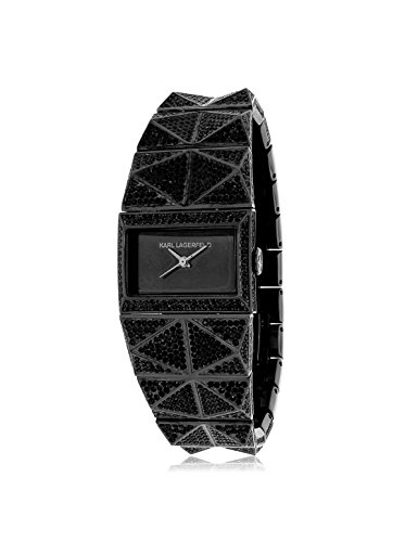 Karl Lagerfeld Women's KL2605 Black Stainless Steel Watch