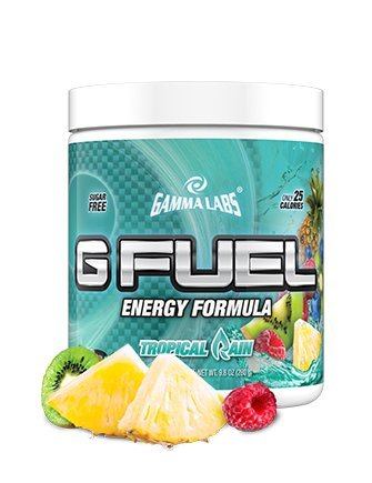 Gamma Labs G Fuel Tub Elite Energy and Endurance Formula, Tropical Rain, 9.8 Ounce (Gamma Shaker Cup compare prices)