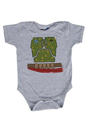 [Unisex Baby Star Wars Boba Fett Onesie 6 Months] (Star Wars Boba Fett Girls Costumes)