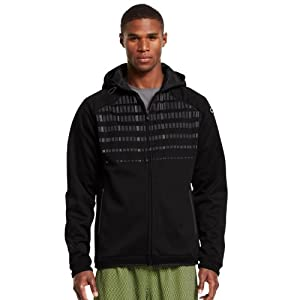 Under Armour Mens C1N Signature Full Zip Hoodie by Under Armour