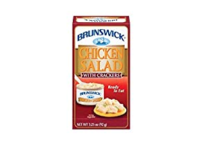 Brunswick - Chicken Salad with Crackers 3.25 Oz (Pack of 3)