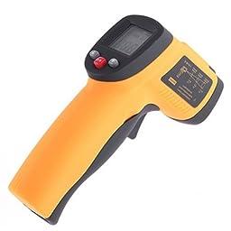 FDL Infrared Digital Thermometer Temperature Gun Non-contact Laser Point-50~380?c