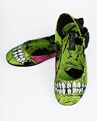 Iron Fist Zombie Stomper Flat - Green