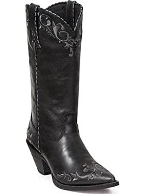 Buy Crush by Durango Ladies 12 Black Scroll Western Boot-RD3200 by Durango