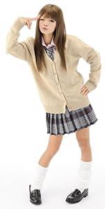 Jig Paradise Women's Cutie Cosplay Japanese School Girl One Size Multicolour