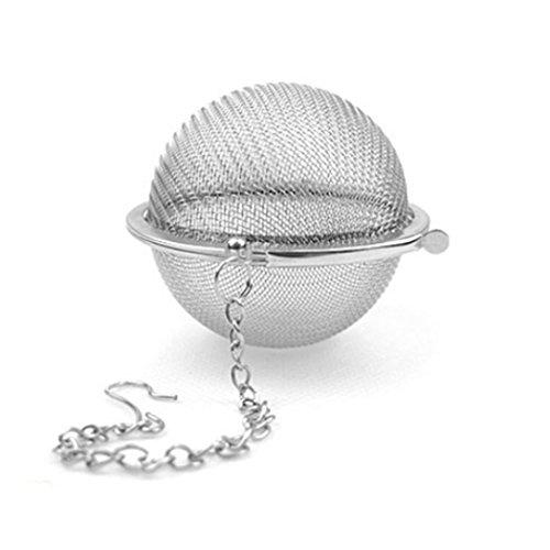 2pcs Stainless Steel Mesh Tea Ball Strainers Tea Strainers Filters Tea Interval