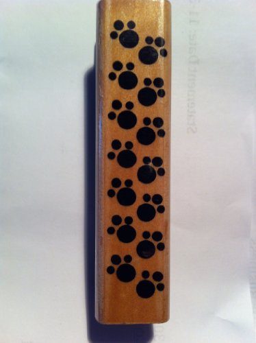 Pawprints Rubber Stamp