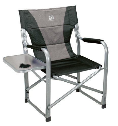 Camp Kitchen Outbound Deluxe Directors Chair with Side Table