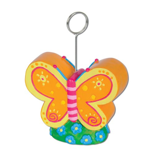 Butterfly Photo/Balloon Holder Party Accessory (1 count)
