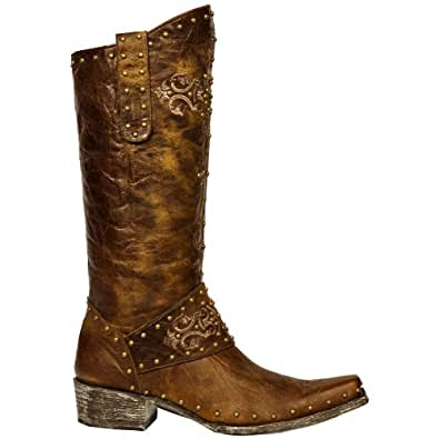 Perfect Old Gringo Women39s Tyler Boot  Vesuvio Brass