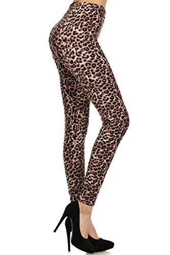 NEW High Waist Classic Animal Print Women's Leggings