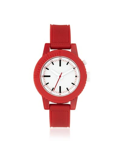 Nixon Women's A287-200 Gogo Red/White Polycarbonate Watch