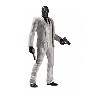 DC Direct Toys Batman Arkham Origins Series 1 Black Mask Action Figure