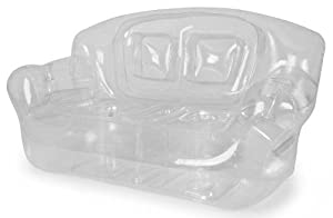 Crystal Clear Couch from Bubble Inflatables