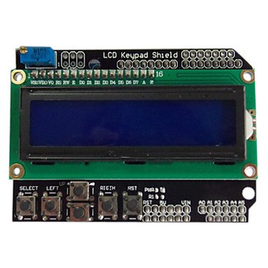 Zcl Lcd1602 Character Lcd Input / Output Expansion Board Lcd Keypad Shield For Arduino