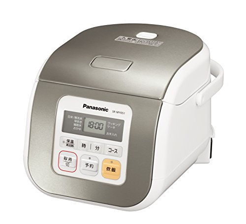 Panasonic Electronic Rice Cooker SR-MY051-S Silver (Japan Import) (Rice Cooker 8 Cup Panasonic compare prices)