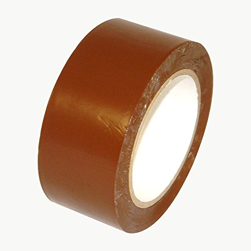 jvcc-v-36p-premium-colored-vinyl-tape-2-in-x-36-yds-dark-brown