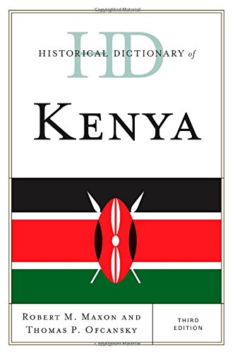 Historical Dictionary Of Kenya (Historical Dictionaries Of Africa) front-791151