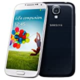 Samsung Galaxy S IV/S4 GT-I9500 Factory Unlocked Phone - International Version (Black)