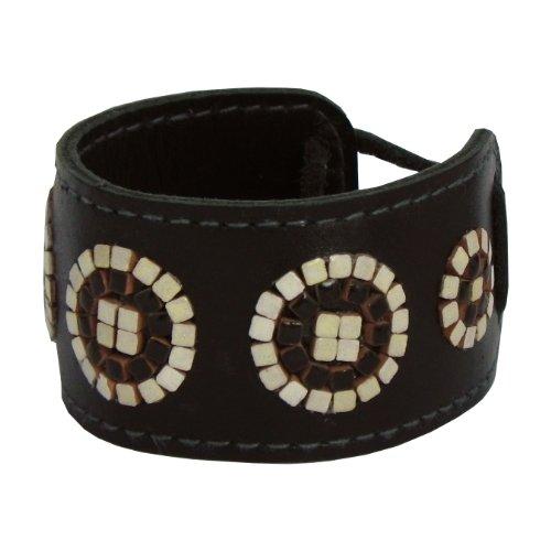 kit to create jewelry,Mosaic Bracelet, Hawaii3,5x15cm black - 1